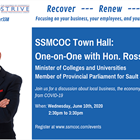 Sault Chamber of Commerce Town Hall