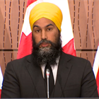 Jagmeet Singh Thinks Everyone Who Opposes His 'Systemic Racism' Motion Is A 'Racist'