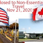 U.S. borders with Canada, Mexico to stay closed Nov 21st