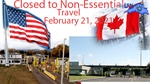 US-Canada border closure extended to Feb. 21