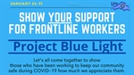 Arrowhead Public Health Departments Launch #thankyouwithblue Initiative