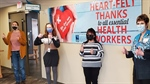 Foundation Presents Health Agencies with Heart-Felt Thanks