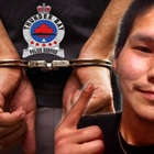 FAMILY DAY STABBING VICTIM BUSTED