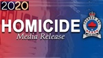 Homicide #2 victim 18 year-old male