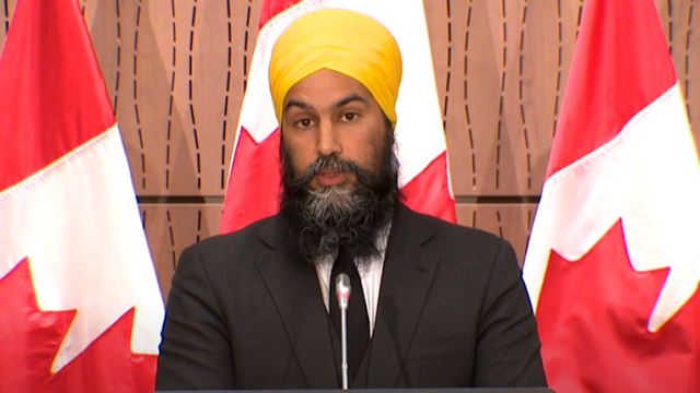 Jagmeet Singh Thinks Everyone Who Opposes His 'Systemic Racism' Motion...