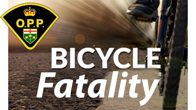 OPP RESPOND TO FATAL COLLISION INVOLVING CYCLIST AND TRAIN