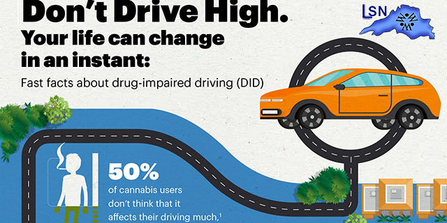 """Feel High?...Don't Drive"" Campaign Dispels Cannabis and Driving Myths"
