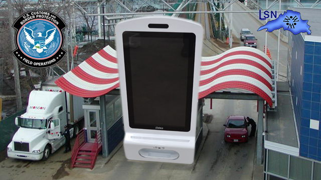 CBP Officers Seize Android Display Hand-Sanitizing Stations