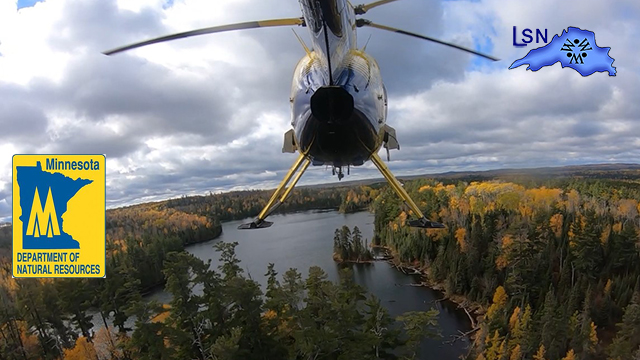 Minnesota Trout stocking via helicopter