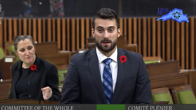 "MP Eric Melillo was ""disappointed and concerned"" by the Liberal..."