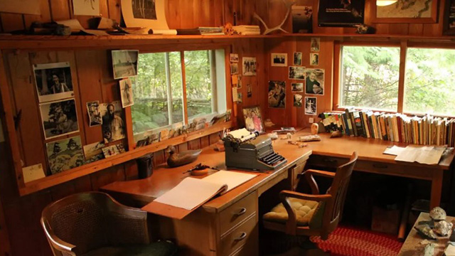 Sigurd Olson's writing shack designated a historic site of national...