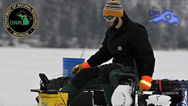 DNR pilot project clears the way for winter fishing access