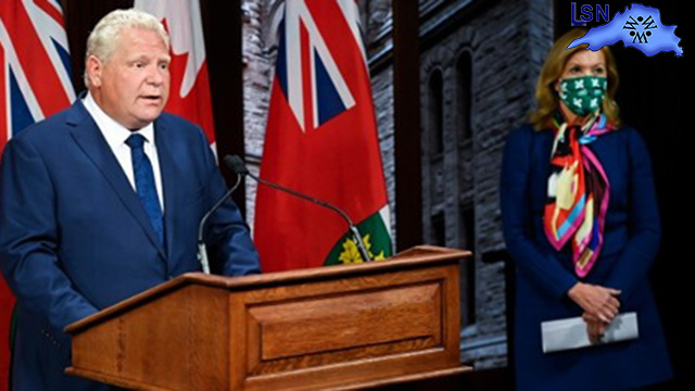 Ford kicks out MPP who wrote letter asking premier to end lockdown
