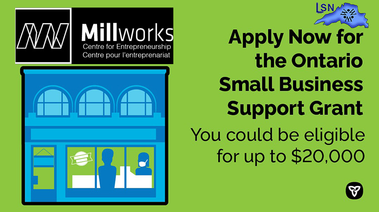 Ontario Small Business Support Grant are now open