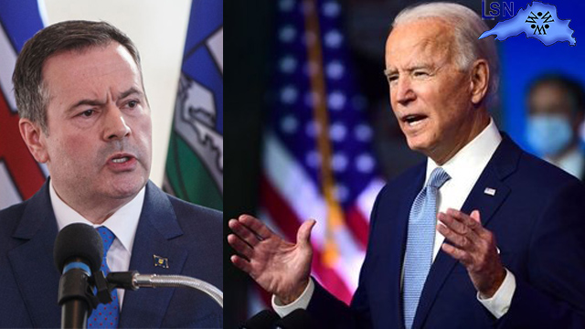 Premier Jason Kenney on reports President-elect Joe Biden may cancel the Keystone XL pipeline permit