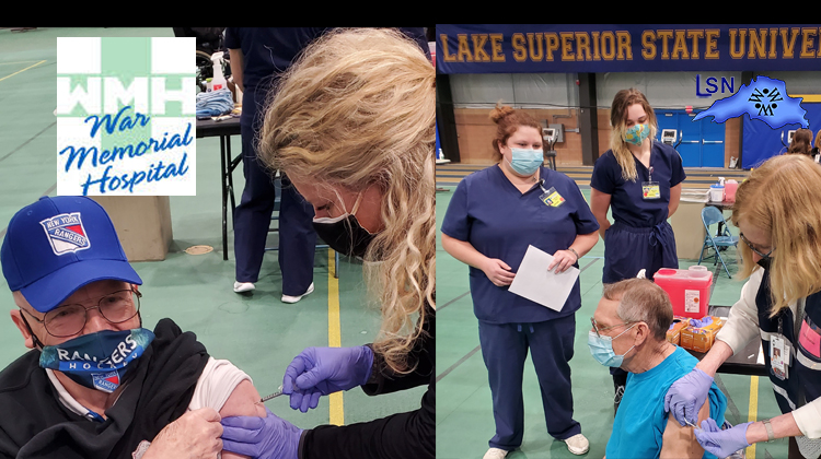 WMH & CCHD Partner on Vaccination Clinic at LSSU
