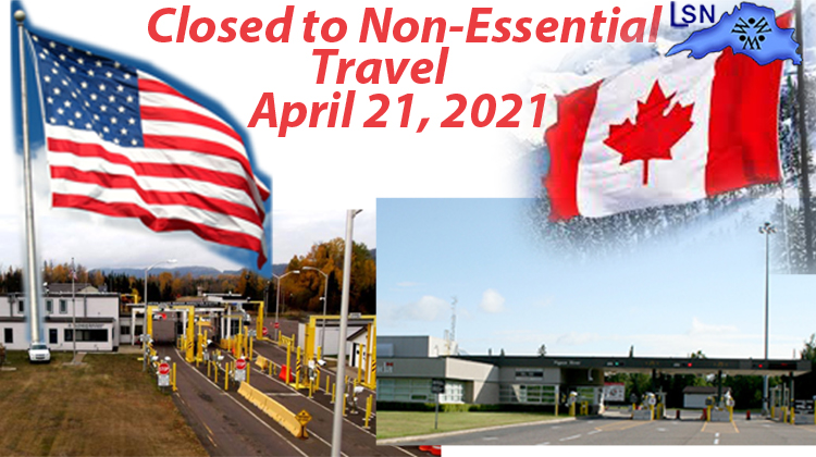 Canada border closure extended to April 21
