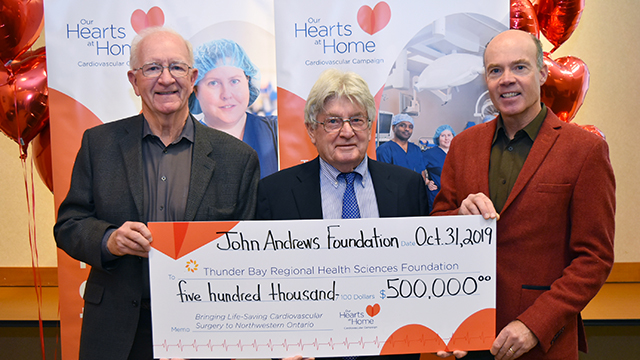 $500,000 Donation Announced by the John Andrews Foundation