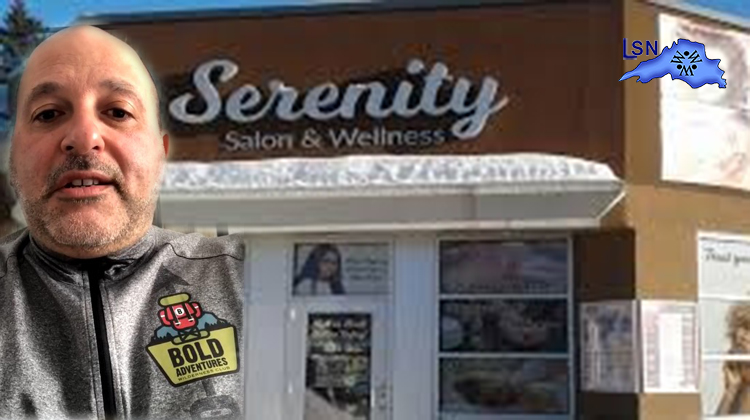 Owner of Serenity Salon will being opening Monday at 2:30 pm.