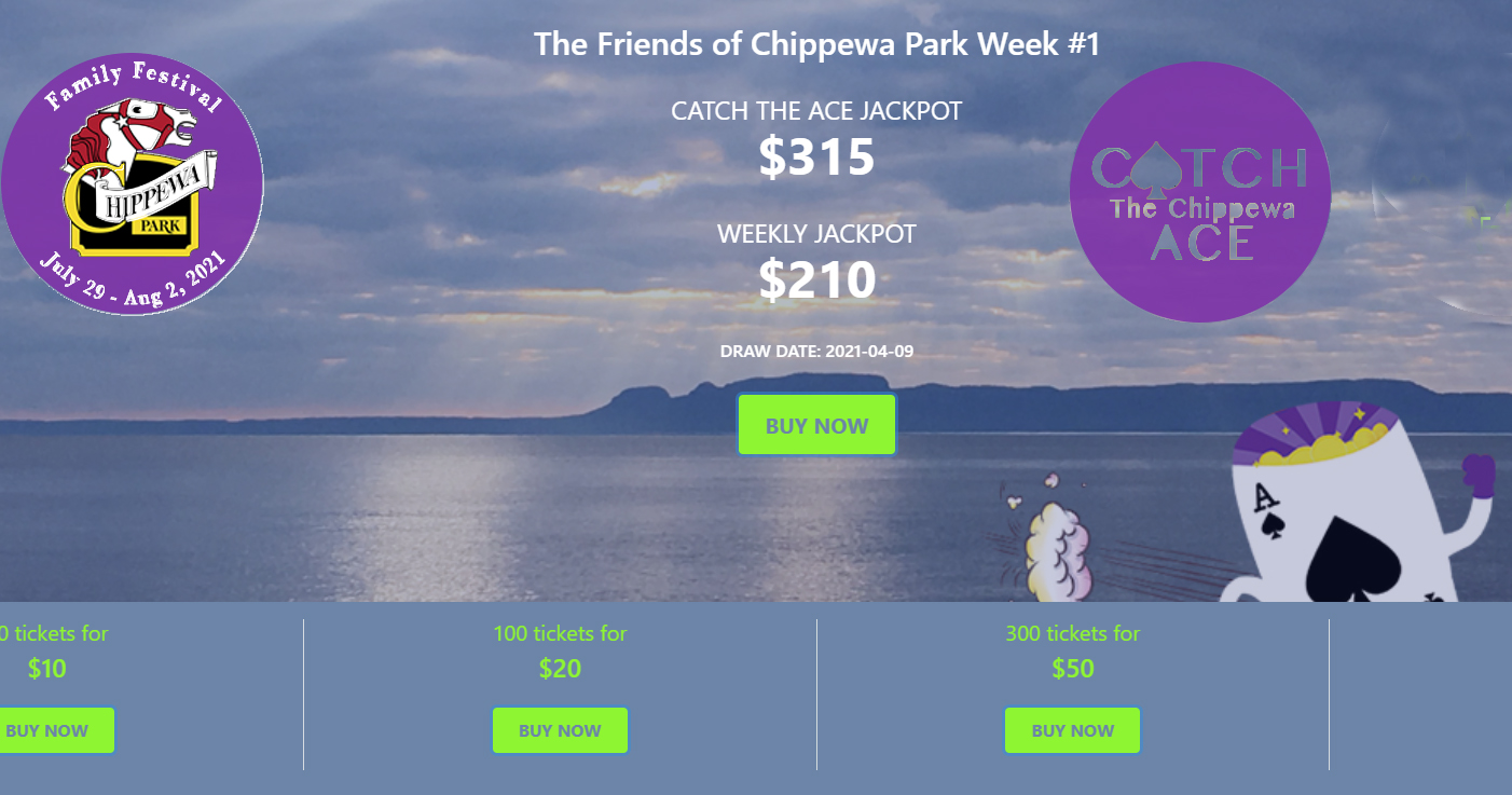 Catch the Chippewa Ace Lottery Launching