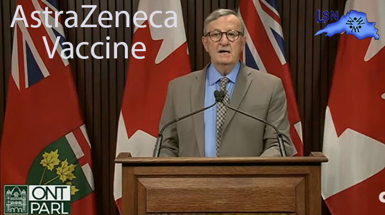 Ontario Confirms 2nd Case of Rare AstraZeneca-linked Blood Clotting