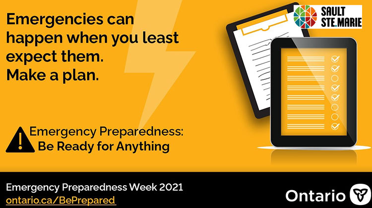 Emergency Preparedness Week challenges participants to Be Ready for...