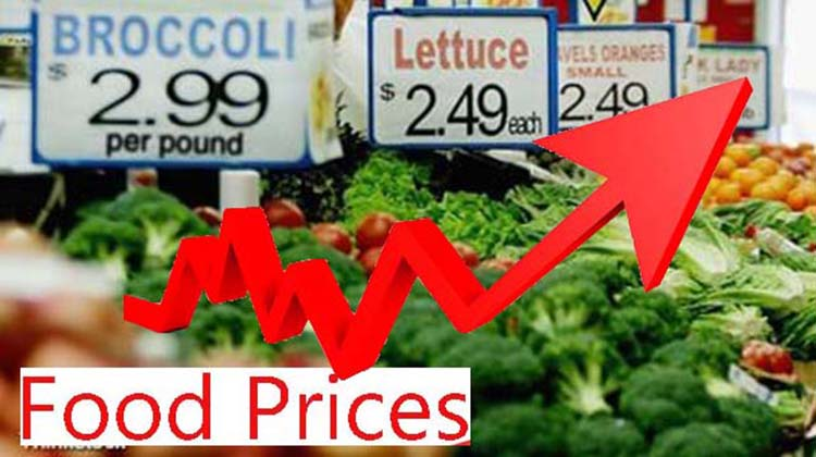 Surprise! Food prices are on their way up
