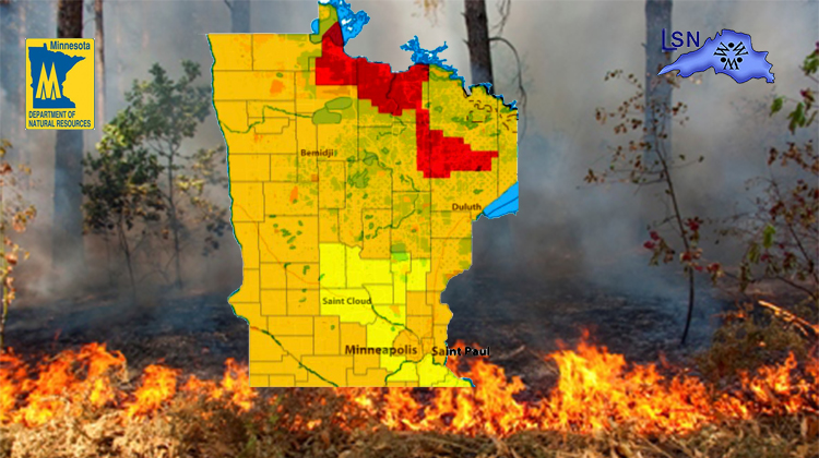 Campers and off-road riders beware of very high fire danger