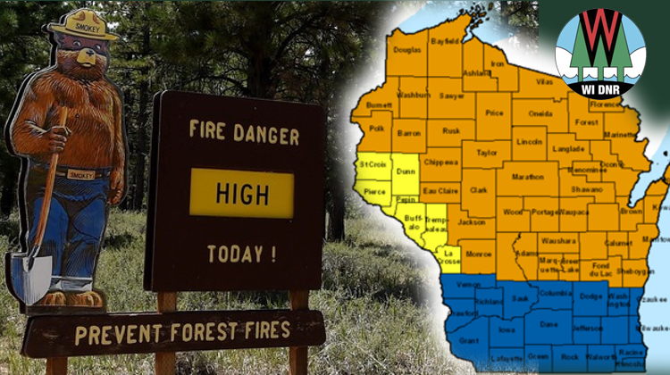 Very High Fire Danger Across Wisconsin