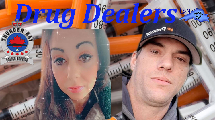 THUNDER BAY COUPLE BUSTED WITH TORONTO DRUG DEALERS