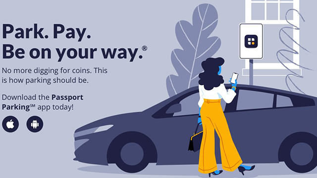 Pay for parking using your Smartphone