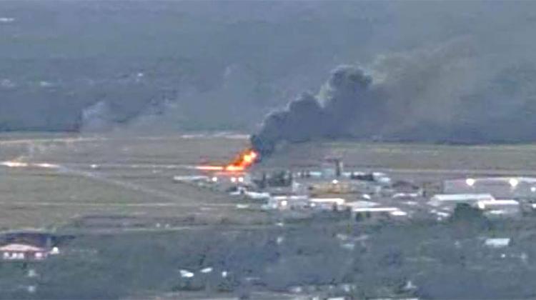 SMALL PLANE CRASH AT THUNDER BAY AIRPORT