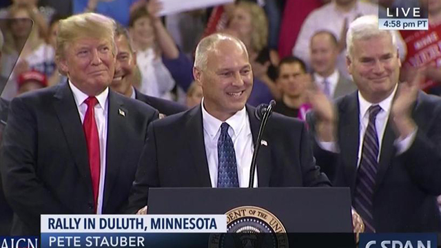 Stauber Votes No on Articles of Impeachment