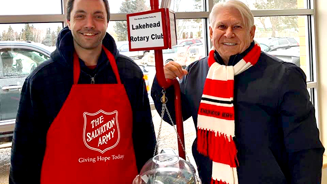 CHRISTMAS KETTLES ALMOST REACH GOAL