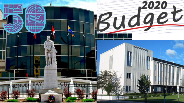 City of Thunder Bay Budget 3.17 per cent over 2019.