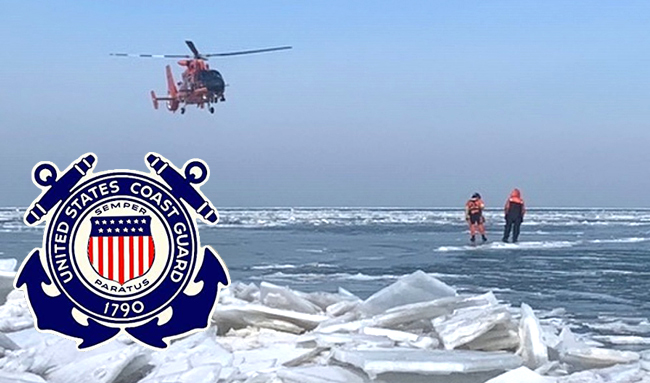 Coast Guards warns of weak ice across Great Lakes region