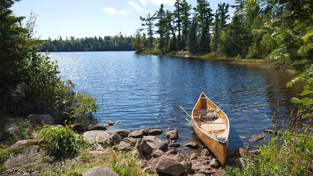 Boundary Waters Canoe Area Wilderness Open for day-use