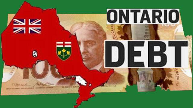 Government debt piling up for Ontarians