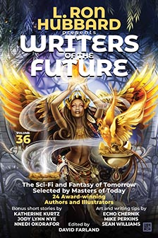 L. Ron Hubbard Presents Writers of the Future Volume 36  Heather Laurence.  Lake Superior News
