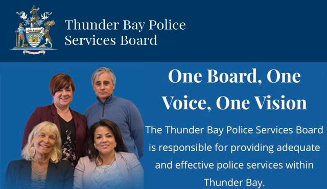 Thunder  Bay Police Service Board    Lake Superior News