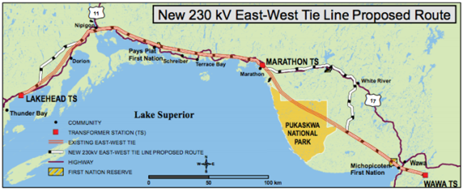 Next Bridge Proposed Route  Lake Superior News