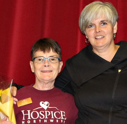 Hospice Northwest Executive Director, Cherie Kok Lake Superior News