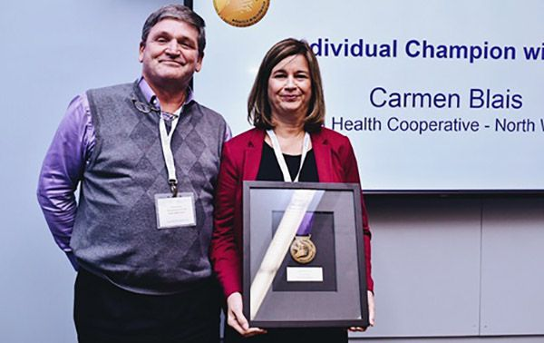 Carmen Blais of Matawa Health Co-operative  Lake Superior News