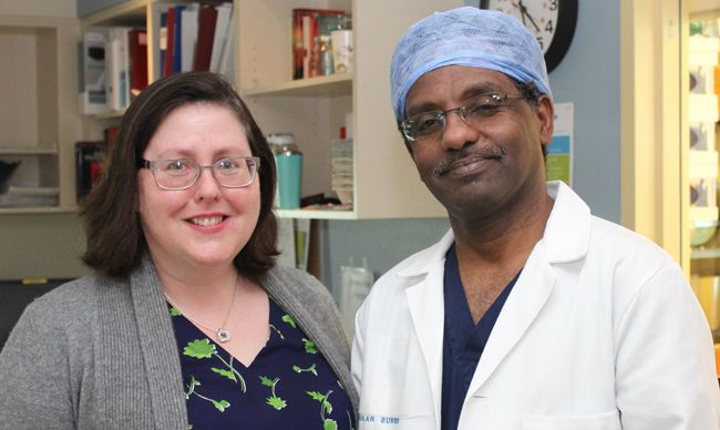 Dr MacDonald Dr Osman  Second Vascular Surgeon  Lake Superior News
