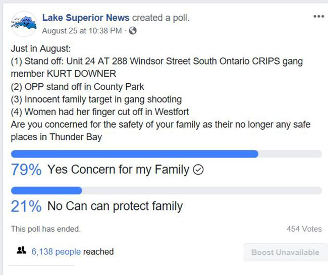 Family Safety  Poll  Lake Superior News