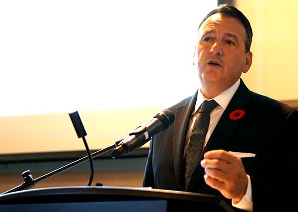 Minister Rickford on East-West Tie Line Project   Lake Superior News