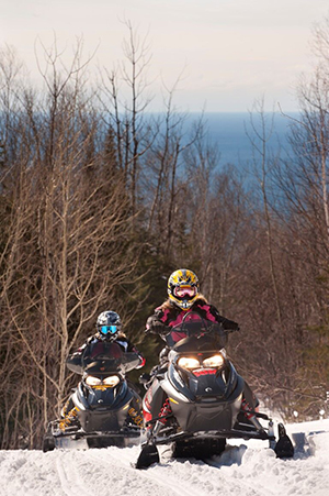 Cook County Snowmobiling  Lake Superior News