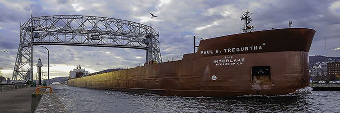 M/V Paul R. Tregurtha   Lake Superior News