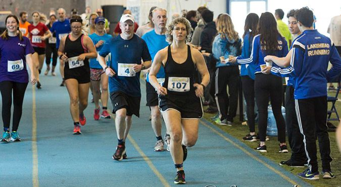 Thunderwolves Indoor Marathon   Lake Superior News