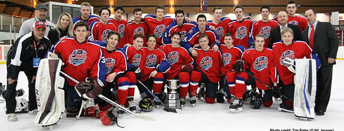 Team West takes President's Cup CJHL Prospects Game Lake Superior News